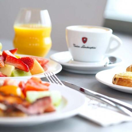Snídaně v Ginger & Fred restauraci